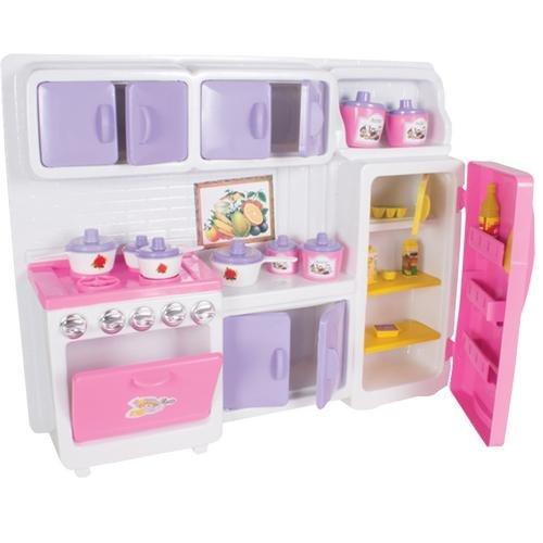 Brinquedo Cozinha Cristal + Acessorios Lua de Cristal 611