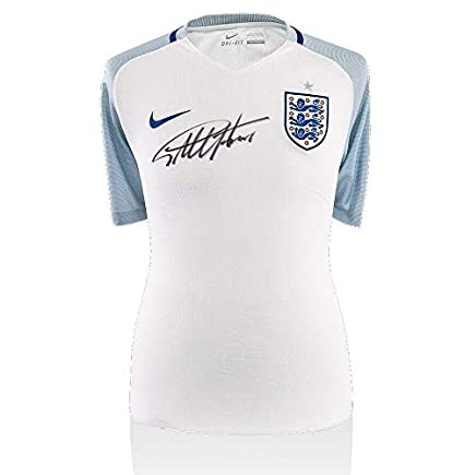7bed5843e Geoff Hurst Signed Jersey - Sir England 2016 17 Shirt Home - Autographed Soccer  Jerseys at Amazon s Sports Collectibles Store
