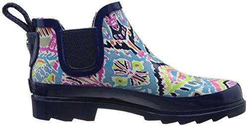 Il Sak Womens Rima Rain Boot Aqua Brave Beauti