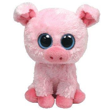 Ty Beanie Boos Buddies Corky The Pig