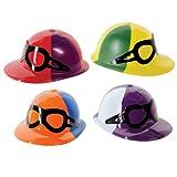 Beistle 66787 48-Pack Plastic Jockey Helmets
