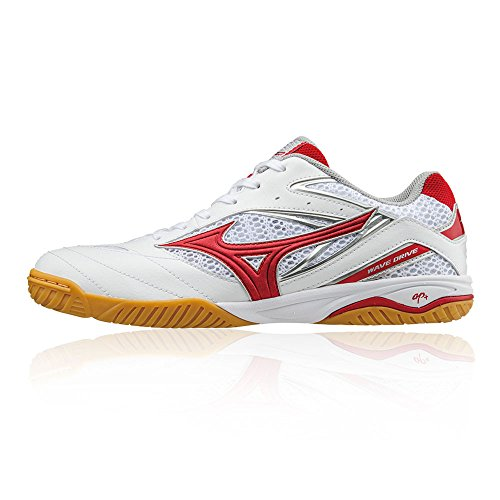 de Tennis Drive Mizuno 8 Wave SS18 Table red Chaussure XxPqOf