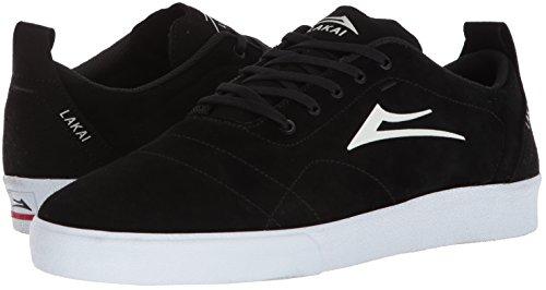 Footwear Bristol ante MensMS1180249A00 unisex negro blanco Adulto Lakai Limited 1gn4w7Hqx5