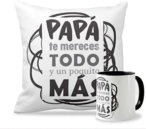 Personaliza tu carcasa Pack Taza + Cojín Ideales para el Día del Padre | Tazas de