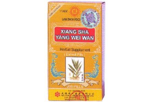 Xiang Sha Yang Wei Wan (200 Pills) - 16oz (Pack of 3)