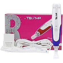 Electric Auto Derma Pen Professional MTS Beauty SPA Pen,Permanent Makeup Tattoo Pen for Eyebrow,Eyeliner Lip & 2pcs Cartridges