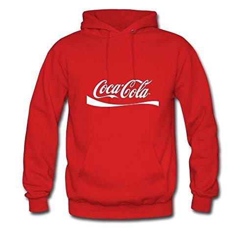Mavis Custom Coca Cola Logo Adult Gildan Hoodie Sweatshirt Size S