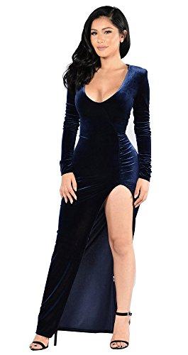 Velvet Gown Dress - 6