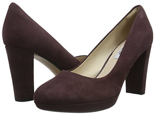 daim Aubergine Clarks Sienna Chaussures Kendra Violettes Femmes Talons Pour À z8Bzn7Owq