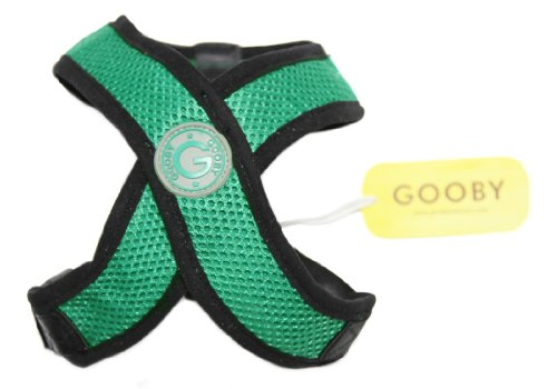 Gooby Comfort Dog Harness, Small, Green