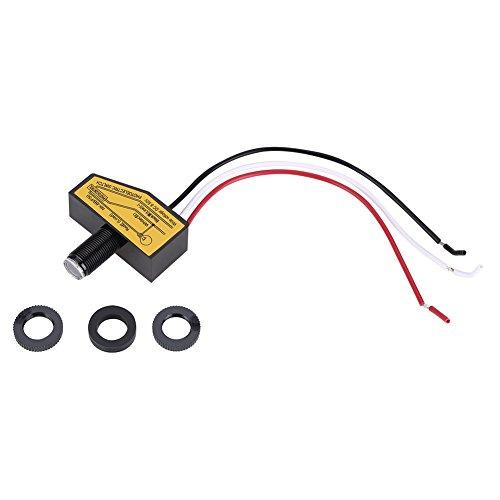 (12V 24V 36V 48V Supply Voltage 8V to 50VDC Mini Light Switching Sensor Remote Photocell Dusk to Till Dawn)