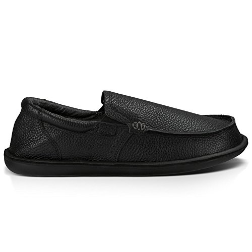 Sanuk Heren Chibalicious Deluxe Slip-on Loafer Zwart