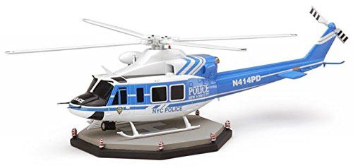 Code 3 1/64 Scale - Bell 412 Helicopter - New York Police (Bell 412)