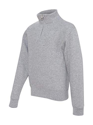 JERZEES 995YR - Nublend Youth Quarter-Zip Cadet Collar Sweatshirt