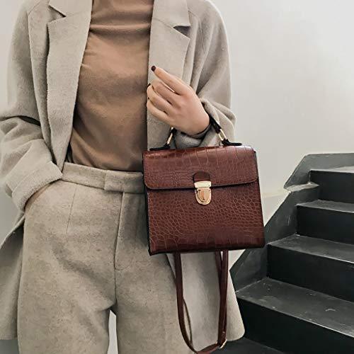 Taglia Cwemimifa Women Bag Coffee For Backpack unica HandbagBrown Brown xdorWBQCe