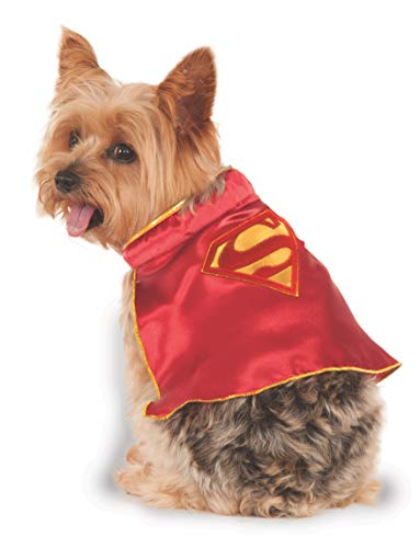 DC Comics Super Girl Pet Cape, X-Small