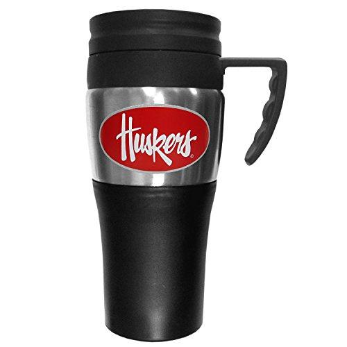 Mug Coffee Cornhuskers Nebraska - NCAA Nebraska Cornhuskers 2 Toned Travel Mug
