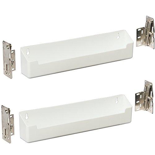 K&A Company Sink Front Storage Tray Kit (Set of 2), 11'' x 3'' x 2'' x 3 lbs, 11 Inch by K&A Company (Image #2)