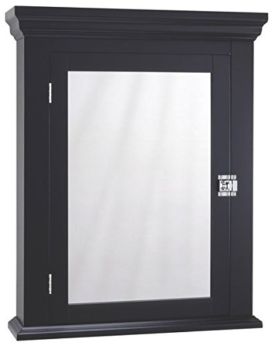 22.25'' x 27.25'' Surface Mount Medicine Cabinet with Swing Door and Two Adjustable Shelves by AVA Furniture