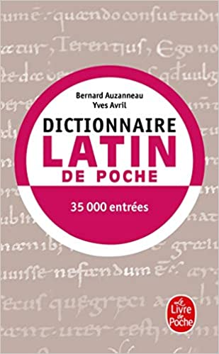 Dictionnaire De Latin De Poche Latin Francais Amazon Fr