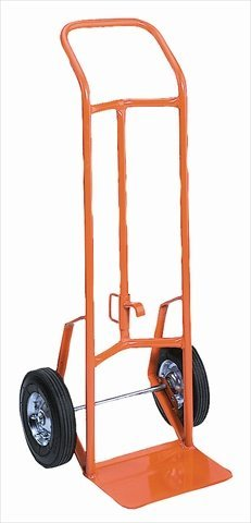 Wesco 210349 Combination Drum and Hand Truck - 8 in. Moldon Rubber Wheel (Truck Pail)