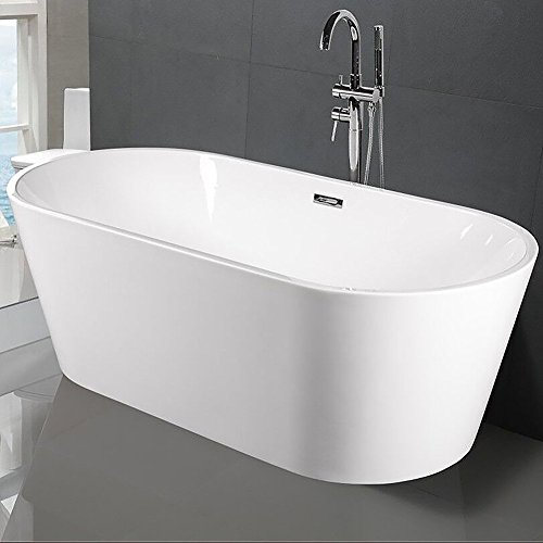 72' Tub (Freestanding Acrylic Bathtub,67