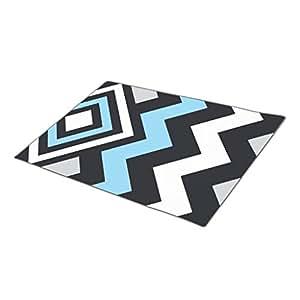 eye-top Abstract Monogrammed Door Mat Cool Customized Door Mats