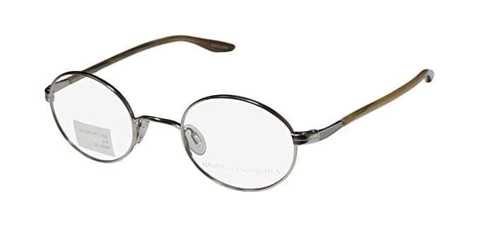 27262e02ddf Amazon.com  Barton Perreira Thoreau Mens Womens Designer Full-Rim Shape  Fashionable Hot Eyeglasses Eye Glasses (45-22-145