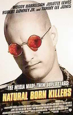 Natural Born Killers - Movie Poster - Shades (Size: 24