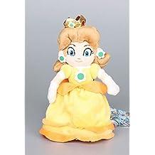 Super Mario Bros Princess Daisy 8 Inch Toddler Stuffed Plush Kids Toys