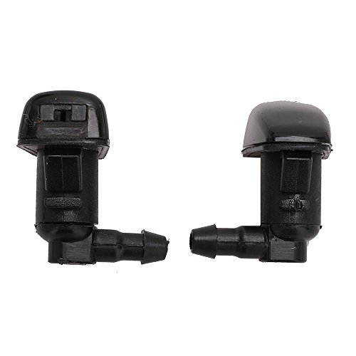 (2PCS Front Windshield Washer Squirter Nozzle Kit Windshield Washer Nozzle Kit Wiper Spray Nozzle Kit for 2008-2012 Ford Fusion Mercury Milan Lincoln MKZ Replace# 8E5Z17603A 8E5Z-17603-A)