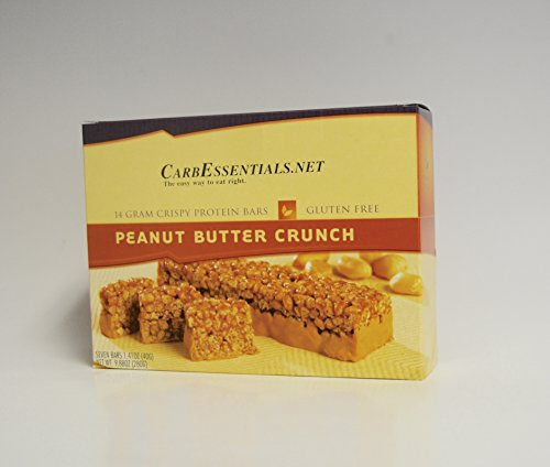 Peanut Butter Crunch Protein Bars, High in Protein -One Life Diet (7 Bars Per Box)