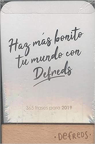 CALENDARIO DE TARJETAS 2019 DEFREDS: Amazon.es: Libros