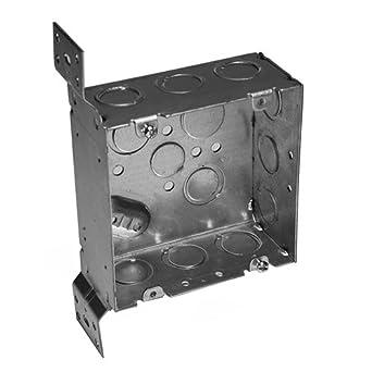 Vb Jl o z gedney 4sjd ek vb square box with knockout eccentric ko 2 1 8