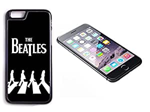 iPhone 6 Black Plastic Hard Case with High Gloss Printed Insert The Beatles