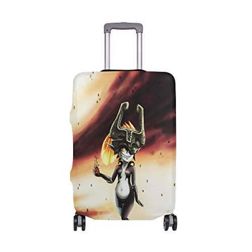 - Travel Luggage Cover The Legend Of Zelda Twilight Princess Midna Suitcase Protector Fits 18-20 Inch Washable Baggage Covers