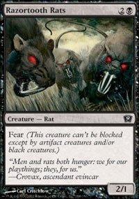 Magic: the Gathering - Razortooth Rats - Ninth Edition ()