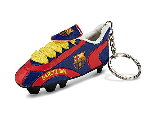 Official Licensed GENUINE FC Barcelona SHOE 3'' Key Chain - Licensed FC Barcelona Merchandise by F.C. Barcelona