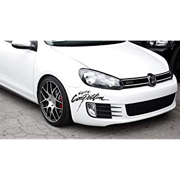11 vinyl auto decal scratch seal bumper sticker for volkswagen toyota honda