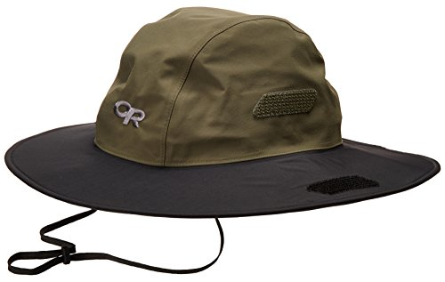 Outdoor Research Seattle Sombrero Hat, Fatigue/Black, Large ()