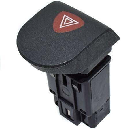 Iycorish Interruptor de Luz Intermitente de Emergencia de Peligro de Autom/óVil para Kangoo I 1997-2008 7700308821