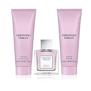 Vera Wang Embrace Rosebud & Vanilla 3pc set - 1.0oz Eau de Parfum + 2.5oz Shower Gel + 2.5o