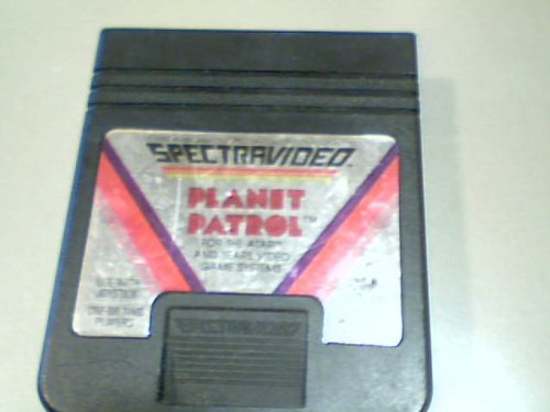 Patrol Atari 2600 Game - 1983 Audio Visual By Spectravideo International, Ltd. Spectravideo Planet Patrol Game Cartridge #Sa-202 for Atari and Sears Video Game Systems (Atari 2600 & Sears System That Takes Atari 2600 Games)