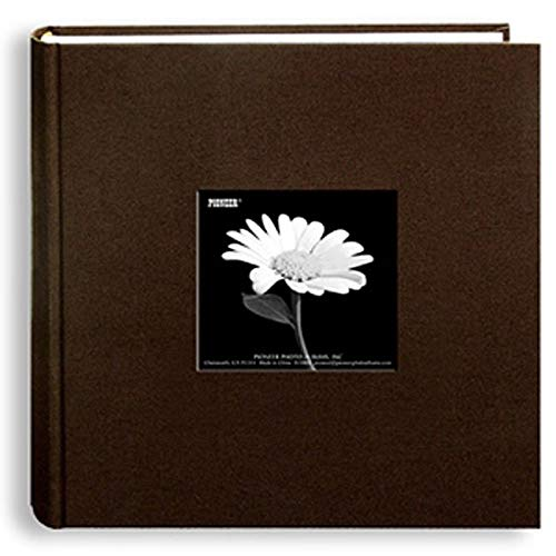 Pack of Two Pioneer Photo Albums Pioneer 200-Pocket 4x6 Chocolate-Brown Photo Album