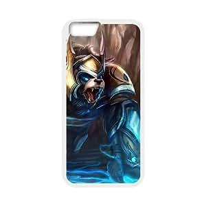iPhone 6 Plus 5.5 Inch Case Covers White Volibear LOL league of legends L4TQ