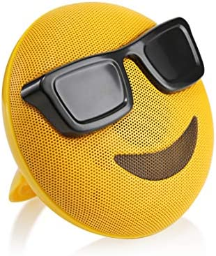 HUGMO Sunglasses Emoji Wireless Bluetooth Speaker
