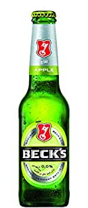 """Becks Apple Flavored """"Non Alcoholic"""" Beer 275 ml (Pack of 6)"""
