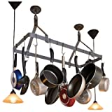 Enclume RACK IT UP! Expandable Rectangular Ceiling Hanging Pot Rack