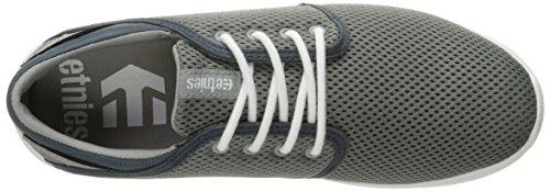 Etnies SCOUT-M - Caña baja de tela para hombre Grey-White-Green