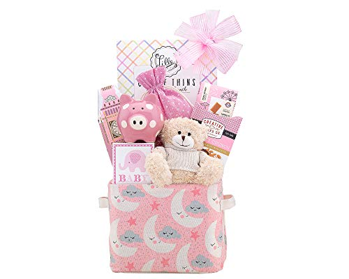 Wine Country Gift Baskets Oh Baby Pink Baby Girl Gift Basket
